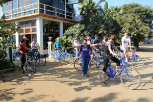 Klar til cykeltur - med en veloplagt guide