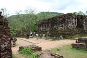 Ruiner i tempelbyen