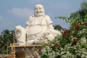 The happy Budda