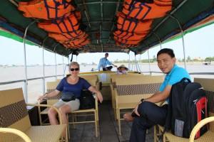 Tid til en ny sejltur, sammen med vores guide