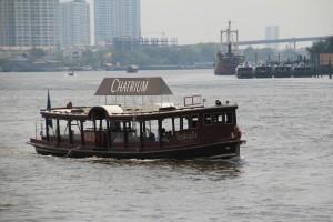 Båden på vej for at hente os tilbage til hotellet